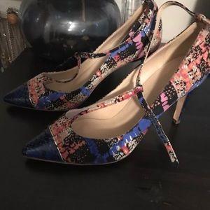 J Crew Everly t strap heels